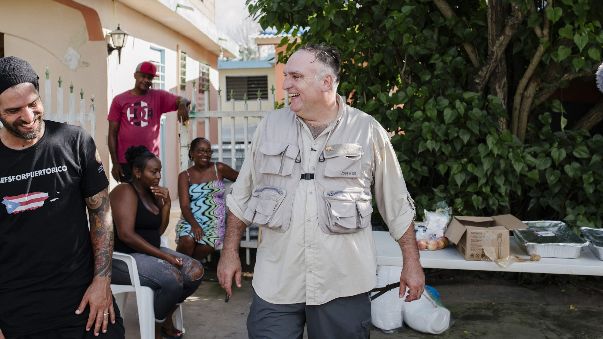 'Everybody Has to Do More.' How Chef José Andrés Is Serving Millions of People Displaced By Hurricanes