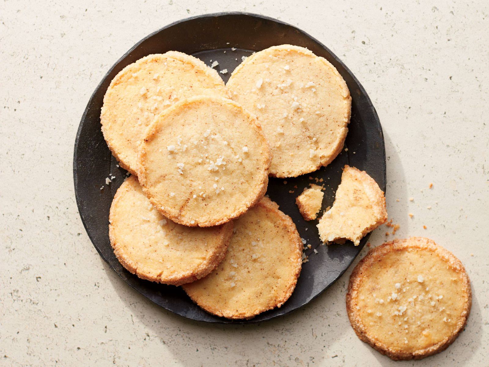 Vanilla-Brown Butter Sable Cookies
