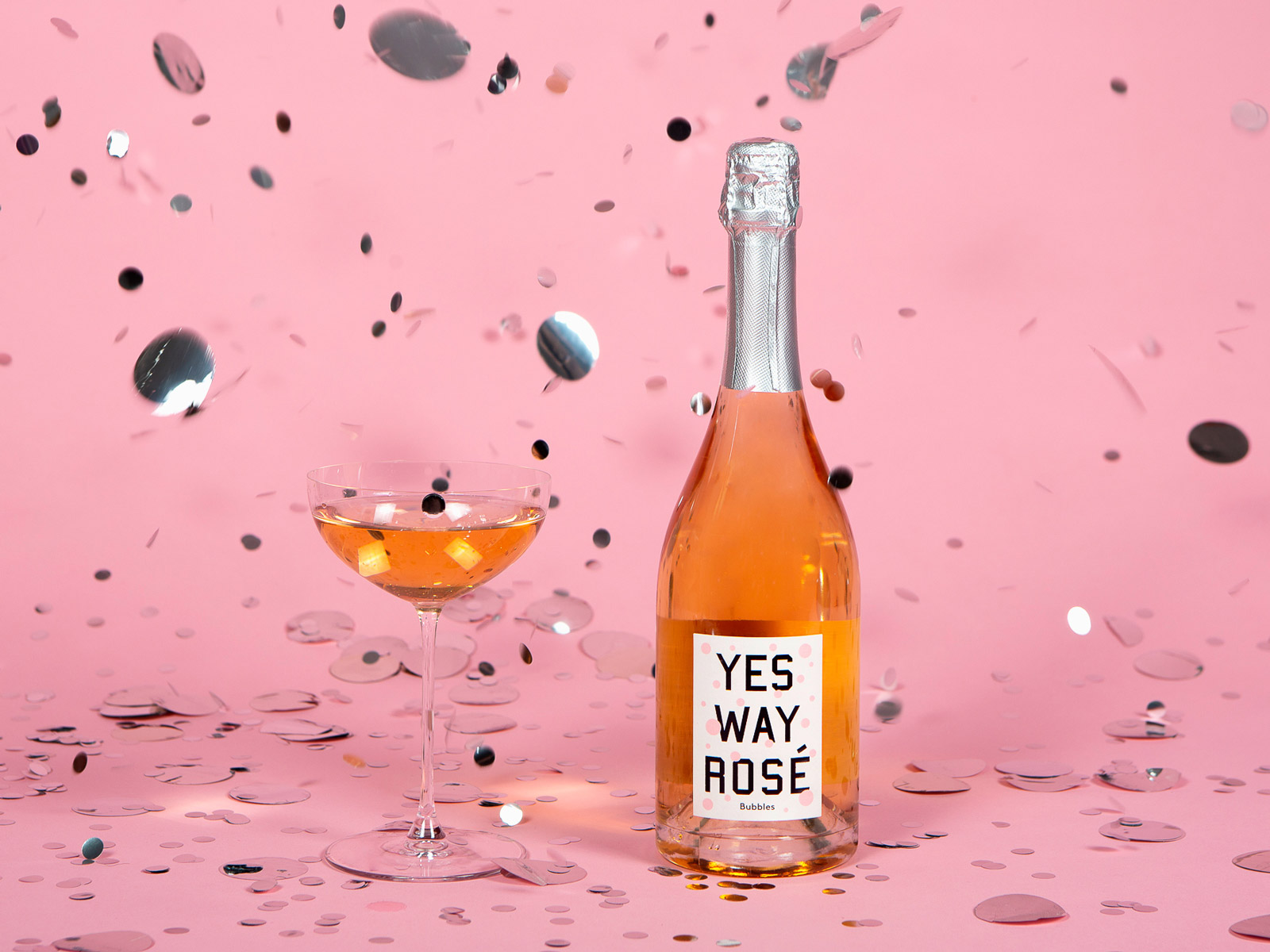 Yes Way Rosé Bubbles Debuts Just in Time for the Holidays