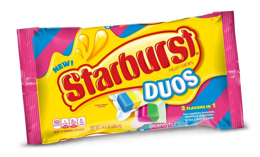 Starburst Adds Two New Flavors