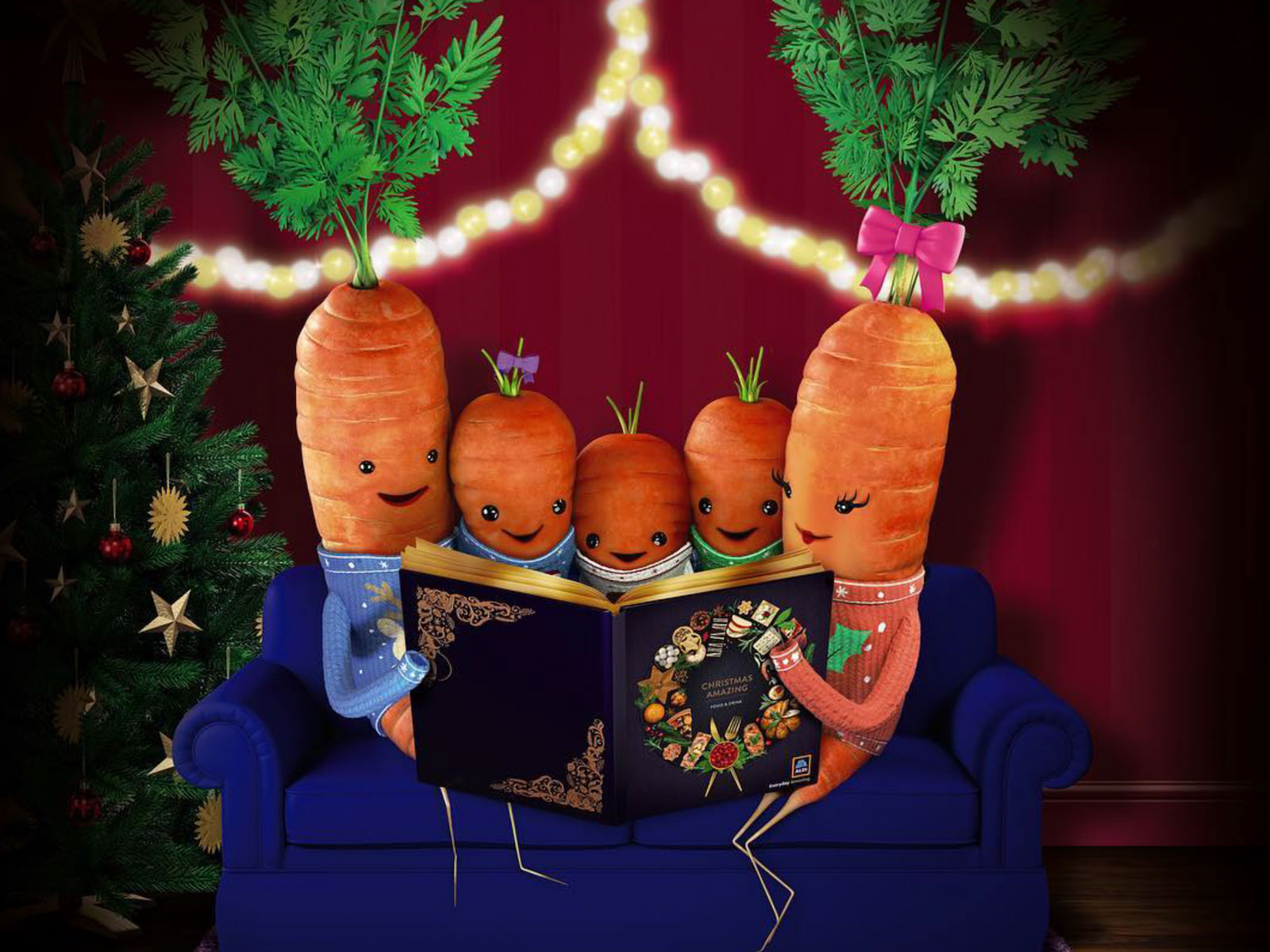 Adorable Carrot Mascot Ushers Aldi Into Chaos