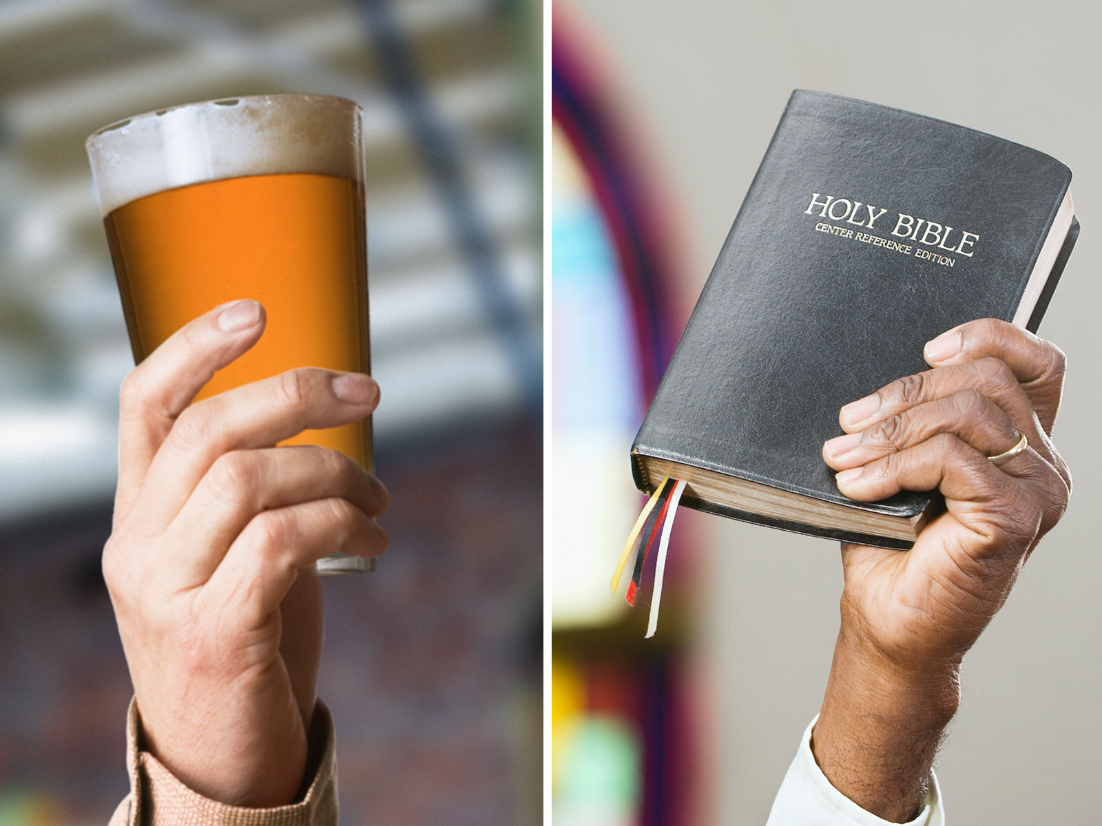 Beer and Churches Forge a Holy Union