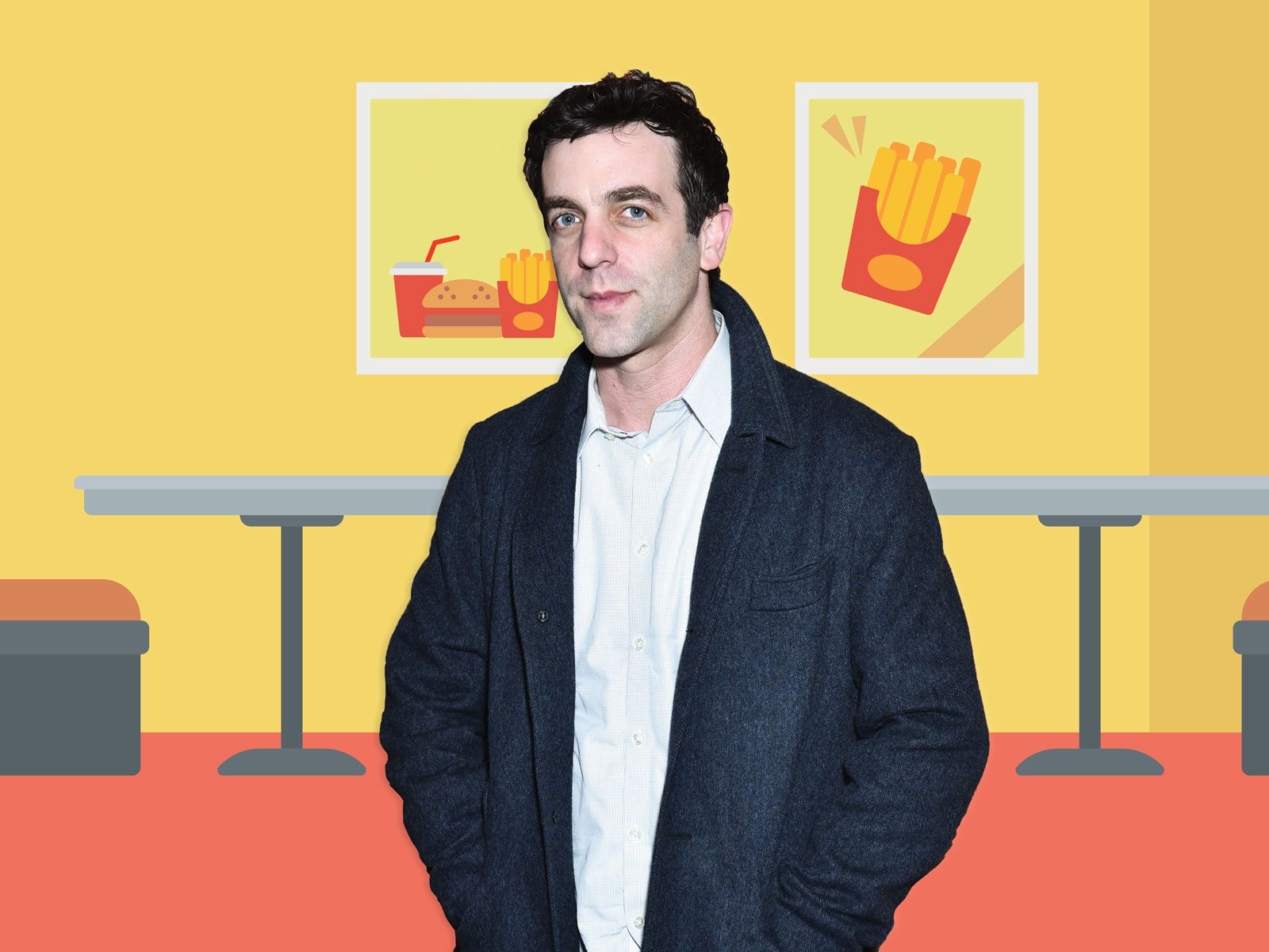 B.J. Novak's Genius Restaurant Idea Is Inspired by TGI Fridays