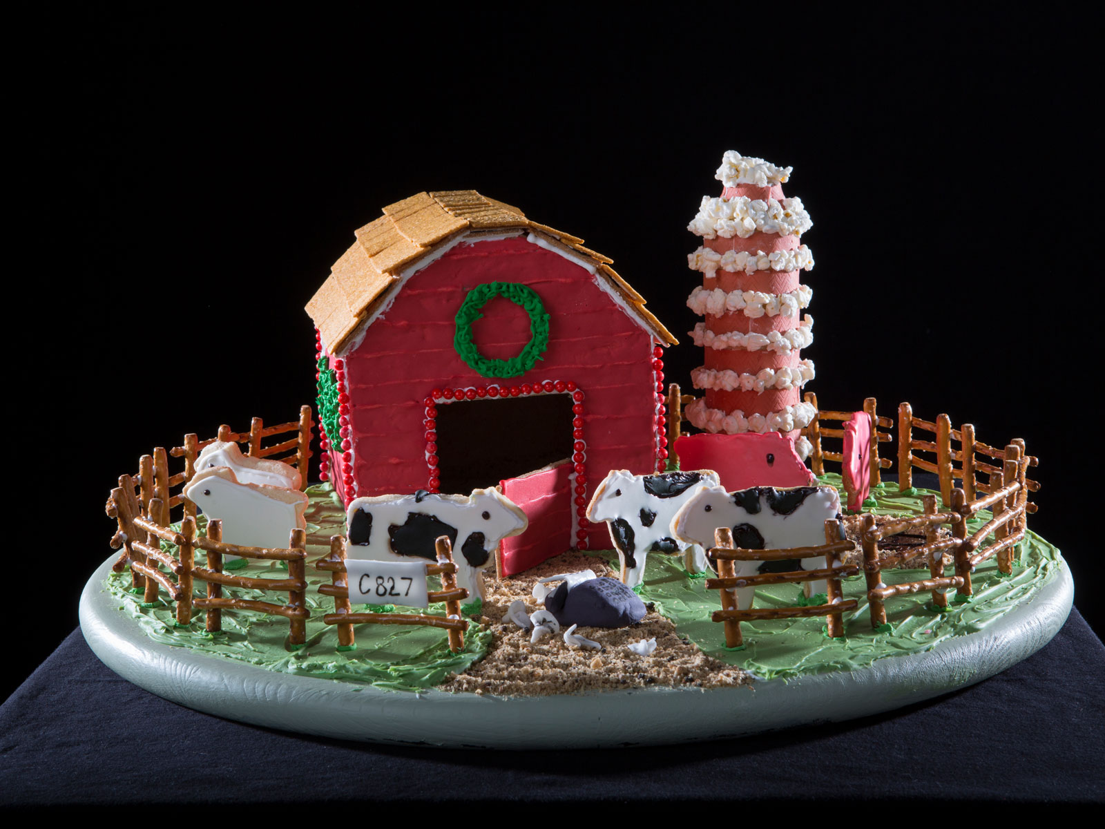 National Gingerbread House Competition Child 2nd Place