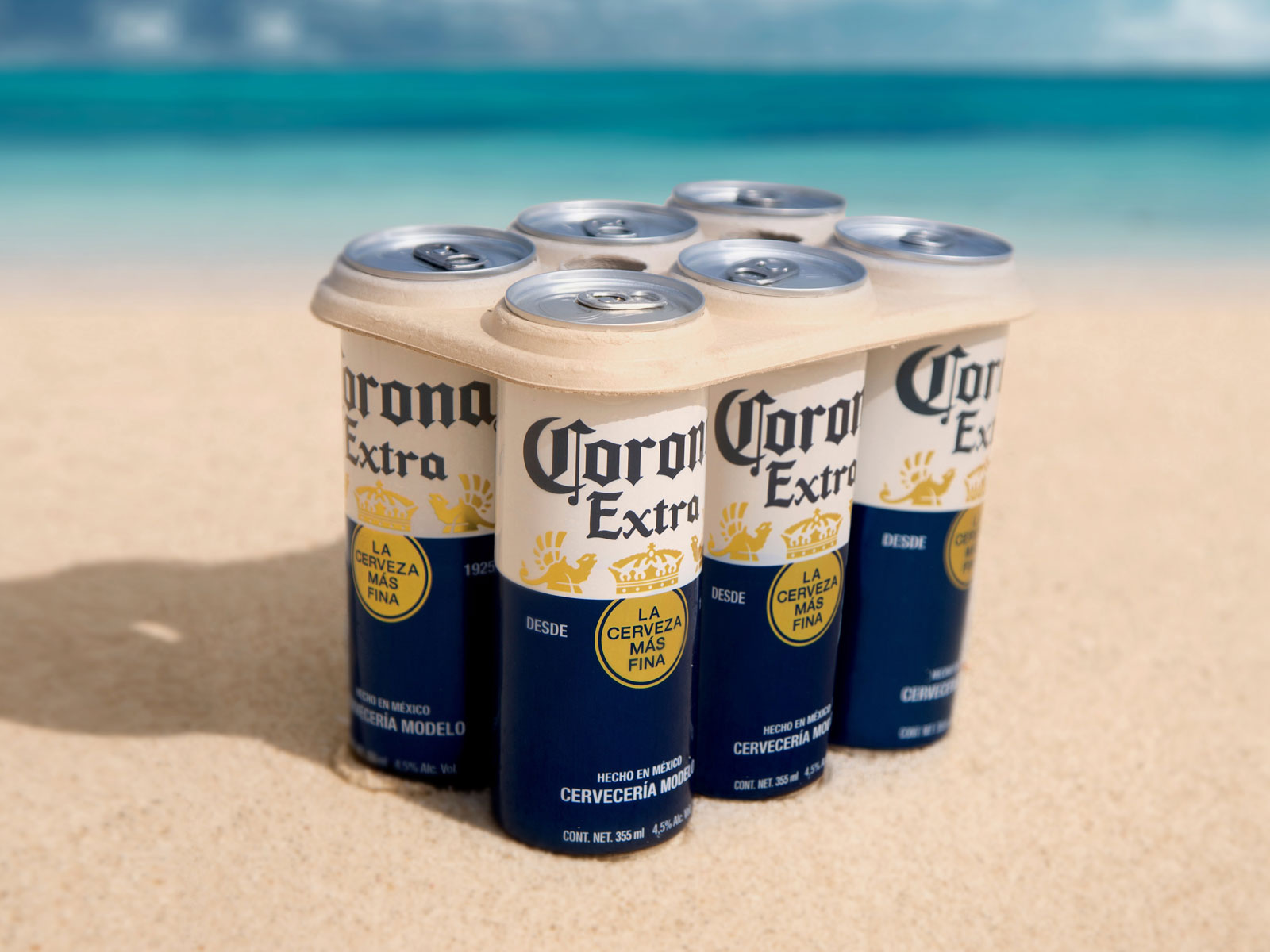 Corona to Test Plastic-Free Six-Pack Rings on Cans