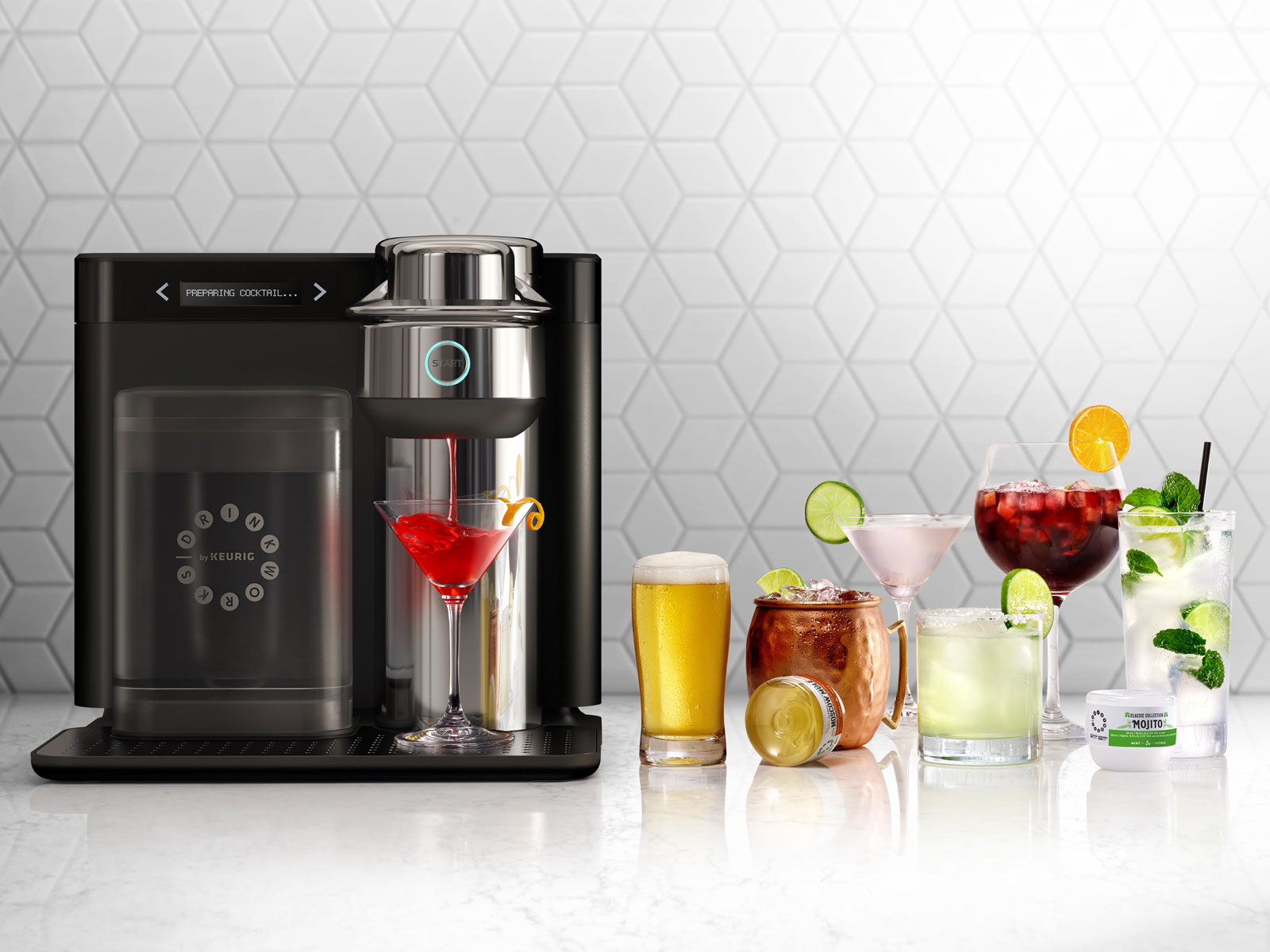 Keurig's Booze-Making 'Drinkworks' Machine Is Here