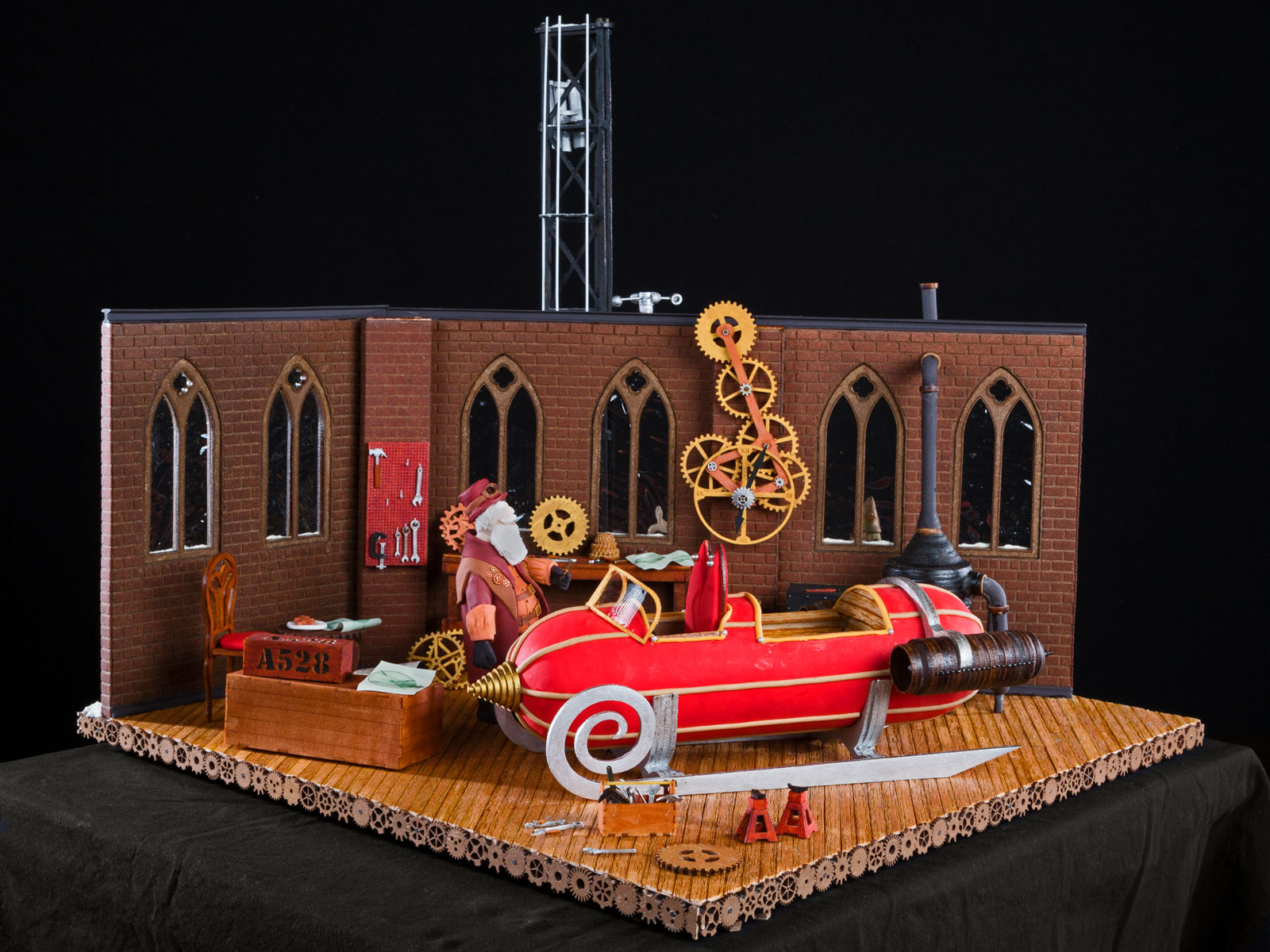Take a Look at This Year's National Gingerbread House Competition Winners