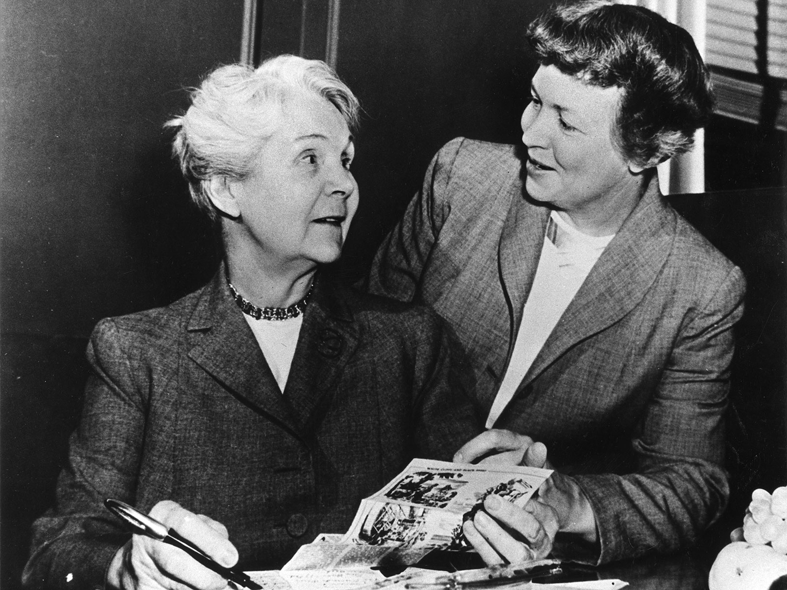 Irma and Marion Rombauer