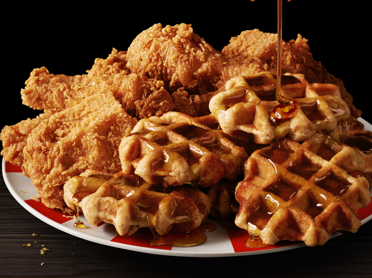 KFC Finally Pairs Its Chicken With Waffles