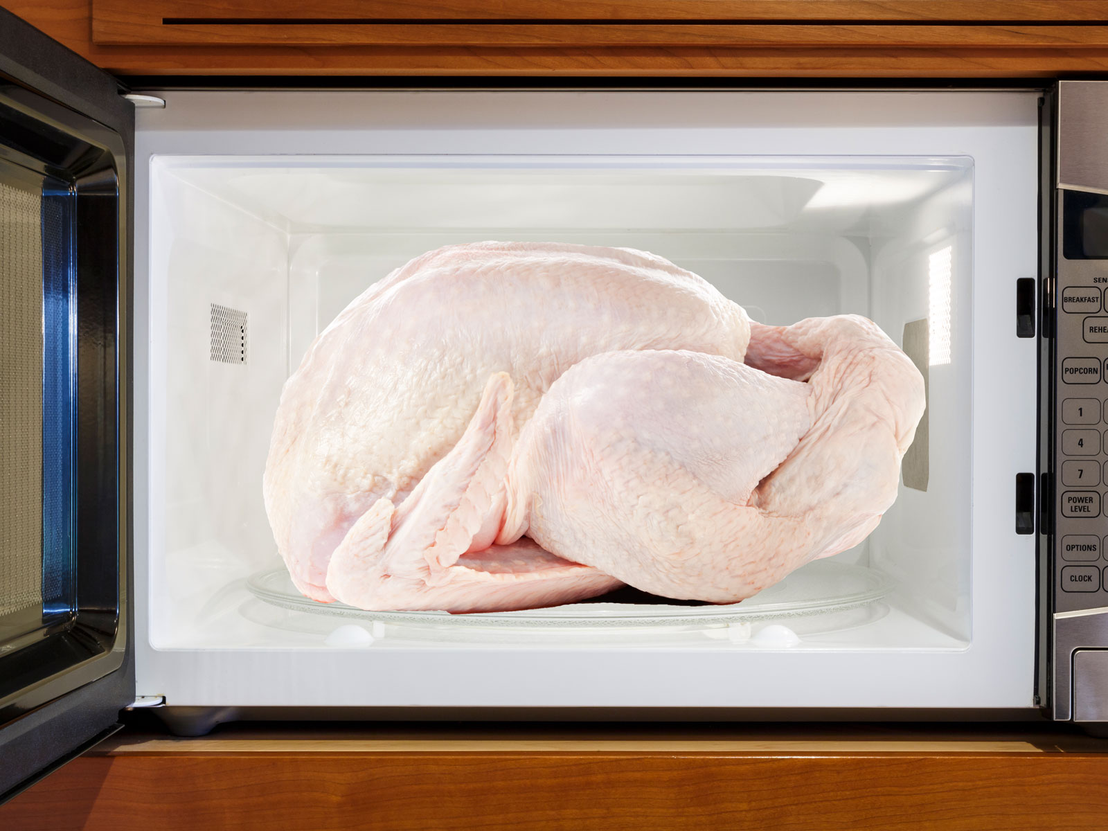 Microwaving Turkey