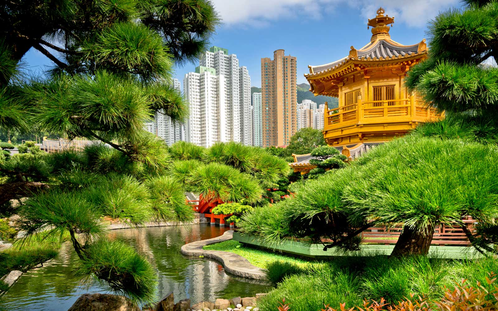 Public Nan Lian Garden situated at Diamond hill
