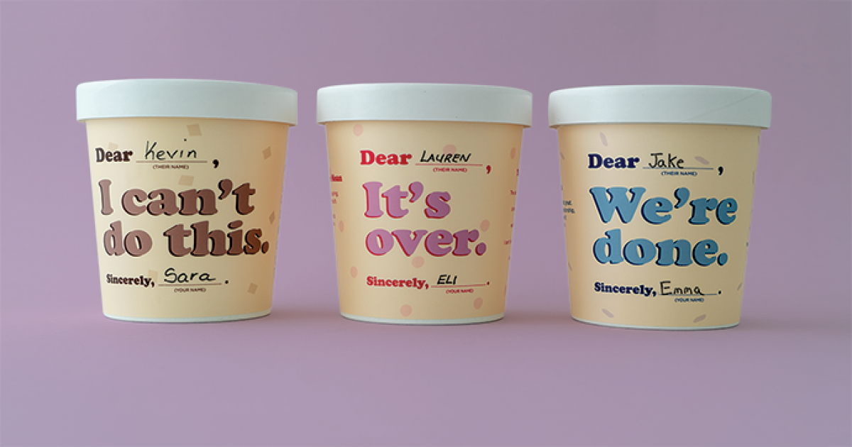 You Can Dump Someone with This Pint of Ice Cream