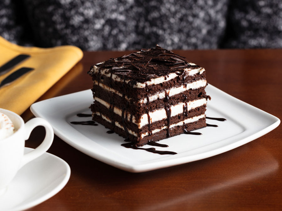 Chocolate Brownie Lasagna from Olive Garden