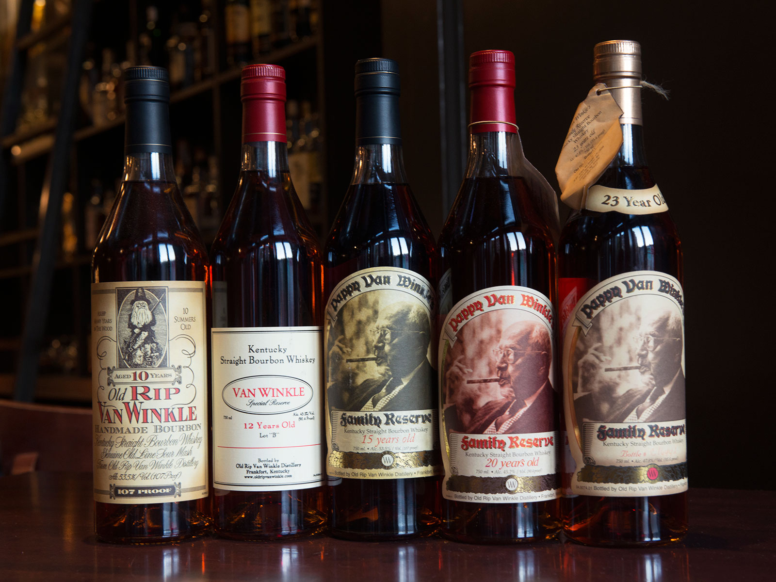 Pennsylvanian Pappy Van Winkle Fans Have 5 Days to Enter the State's Limited-Release Lottery