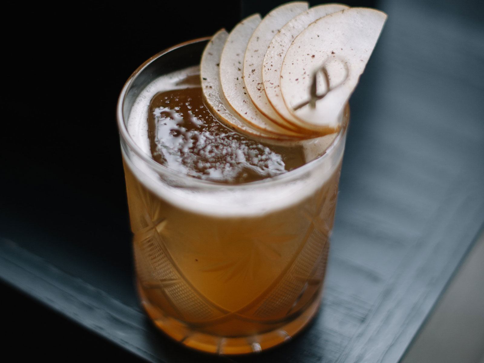 Pear, Spice, and Bourbon Are the Ultimate In Holiday Cheer