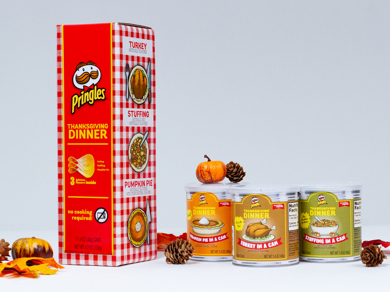 Pringles Thanksgiving Dinner Flavors Are Available to the Public This Year