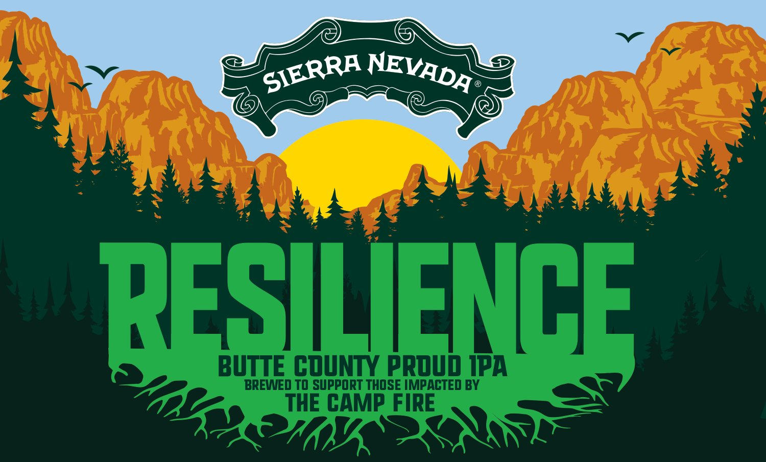 make Resilience Butte County Proud IPA
