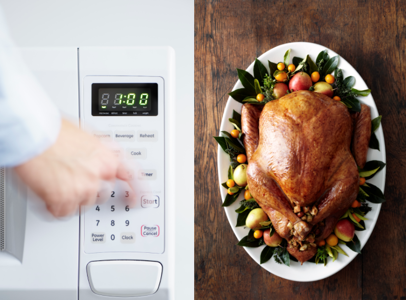 It Turns Out You Actually CAN Microwave a Turkey