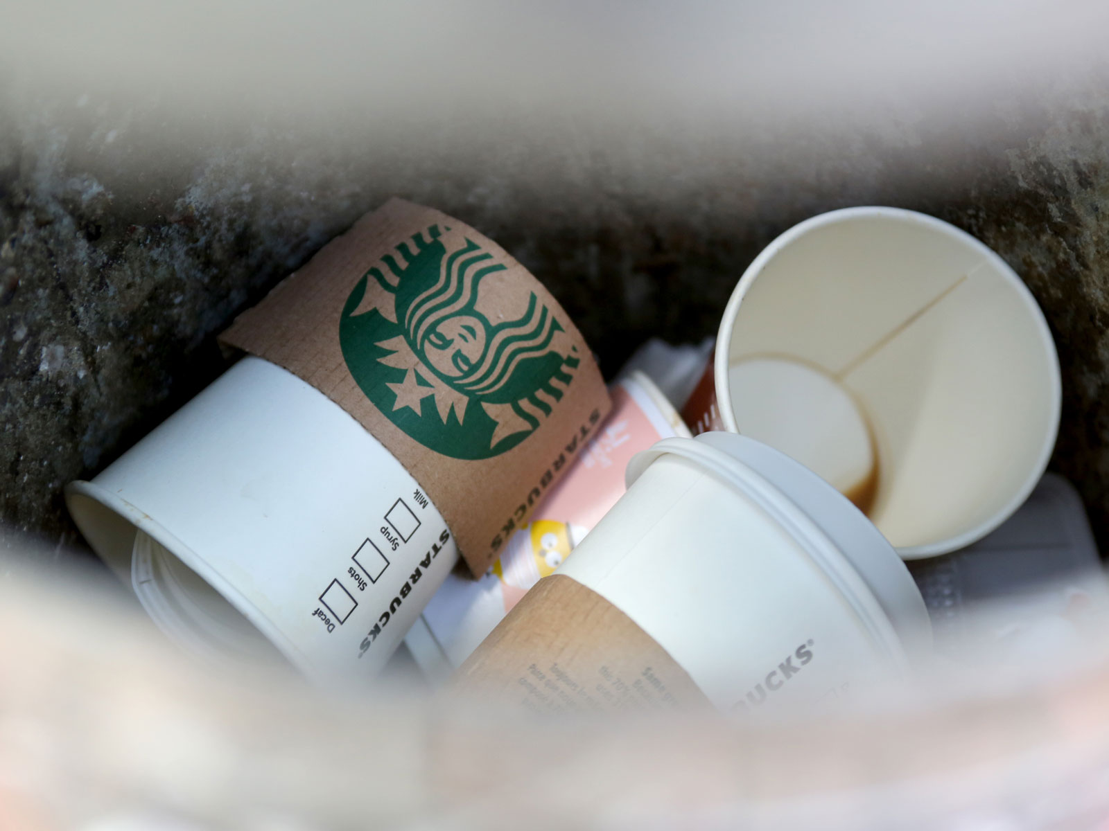 93d043853b9 Contrary to Popular Belief, Starbucks Cups Can Be Recycled… If Sent to the  Right Facility | Food & Wine