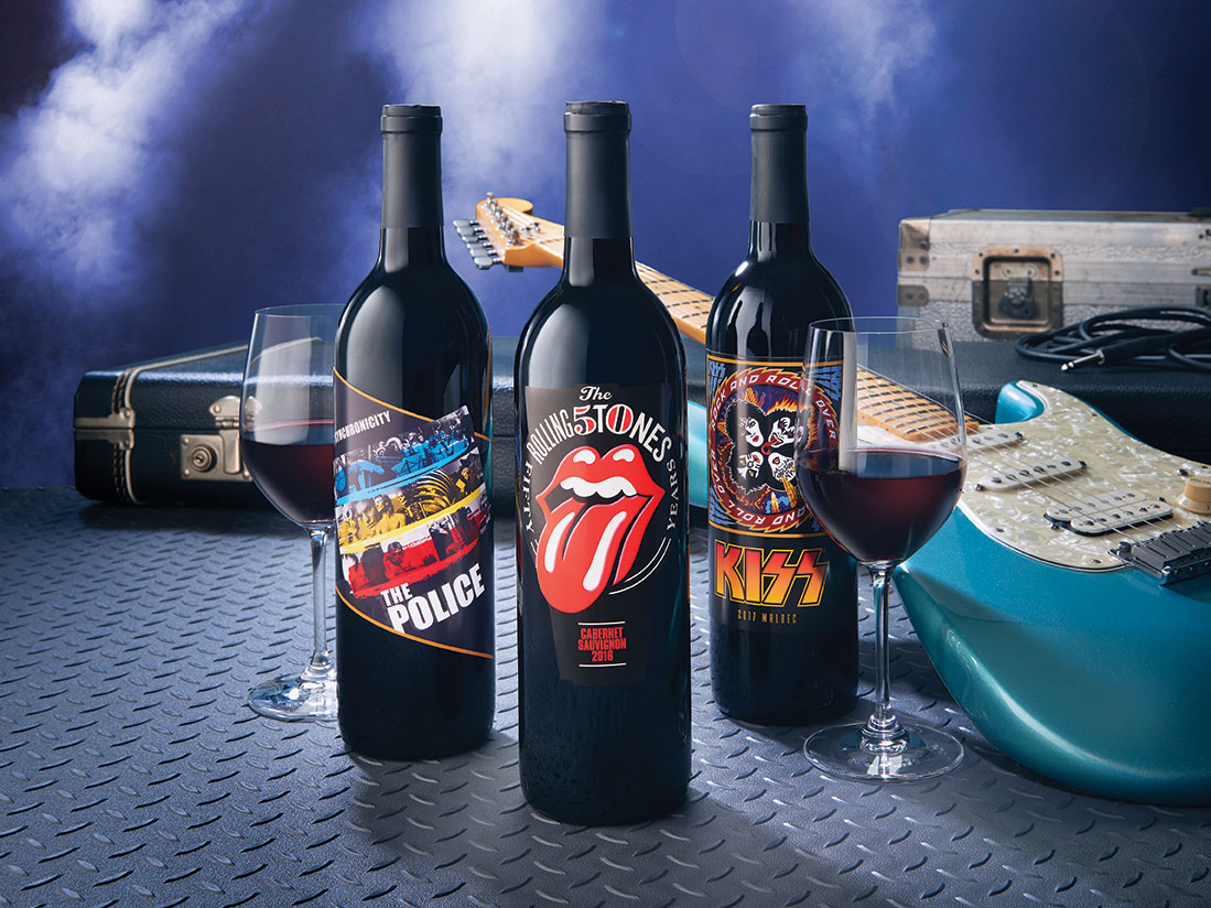 Virgin Launches Rock 'n' Roll Themed Wine Club