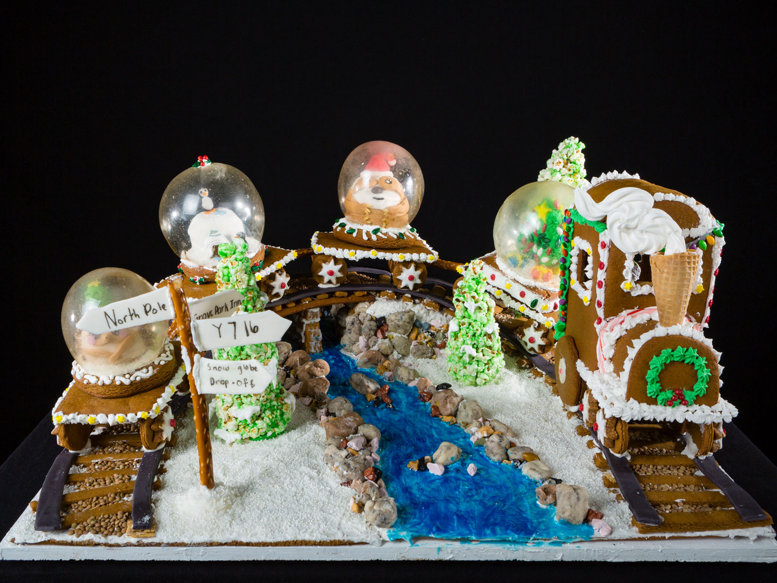 National Gingerbread House Competition Youth 3rd Place