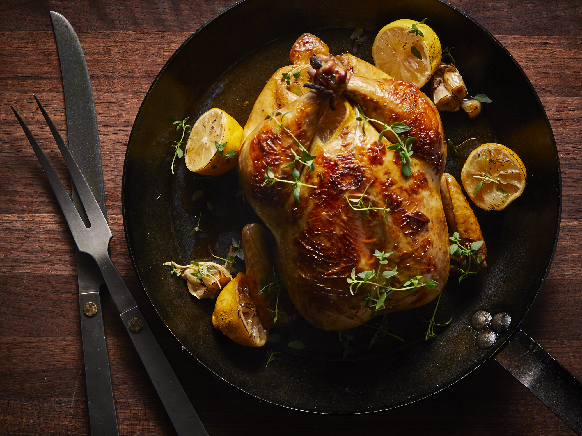 Skillet-Roasted Buttermilk Chicken