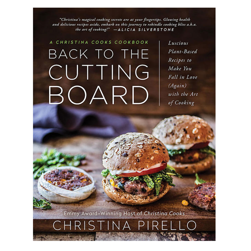 back to the cutting board plant-based vegan cookbook