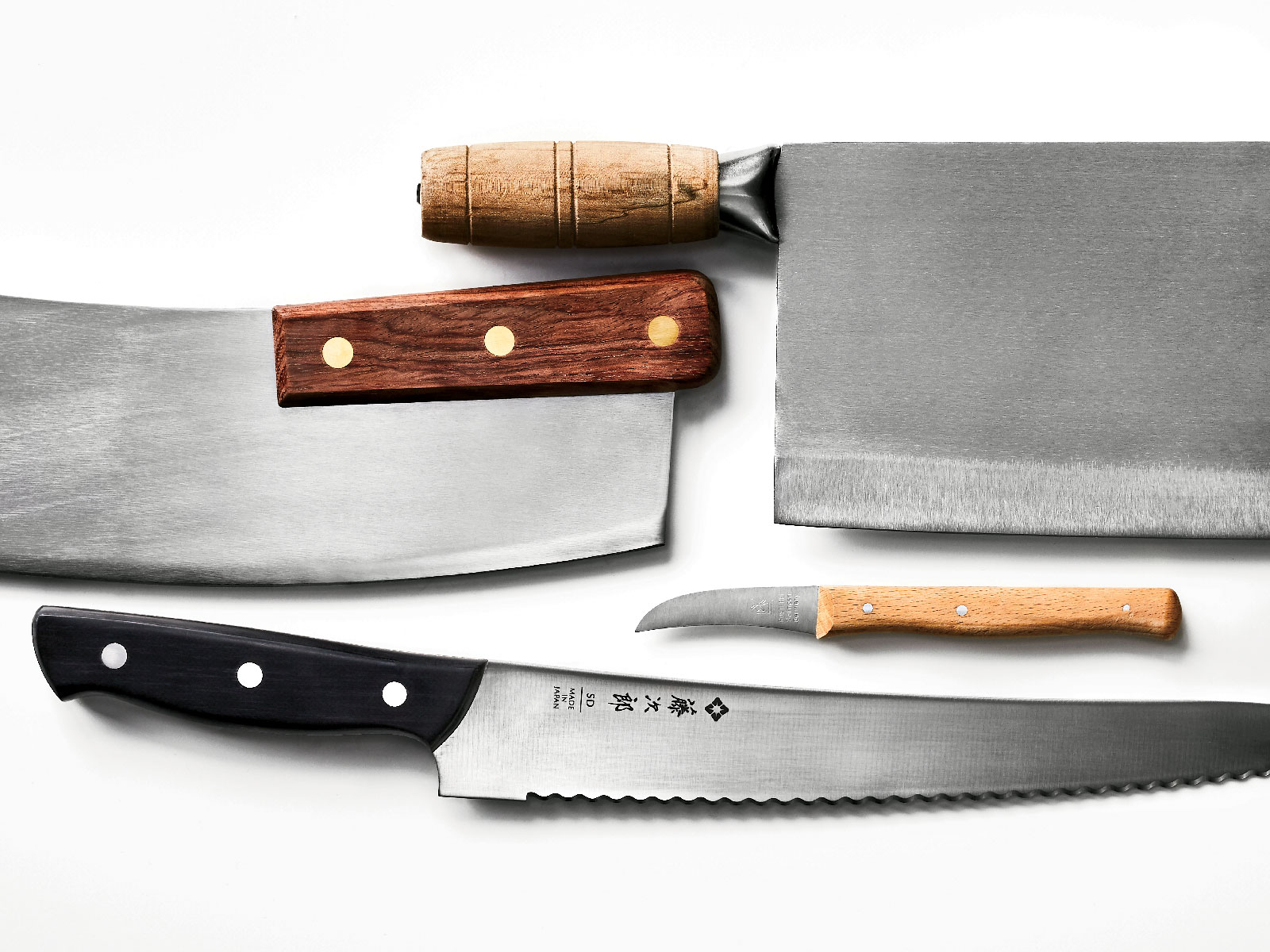 4 Kitchen Knife Essentials