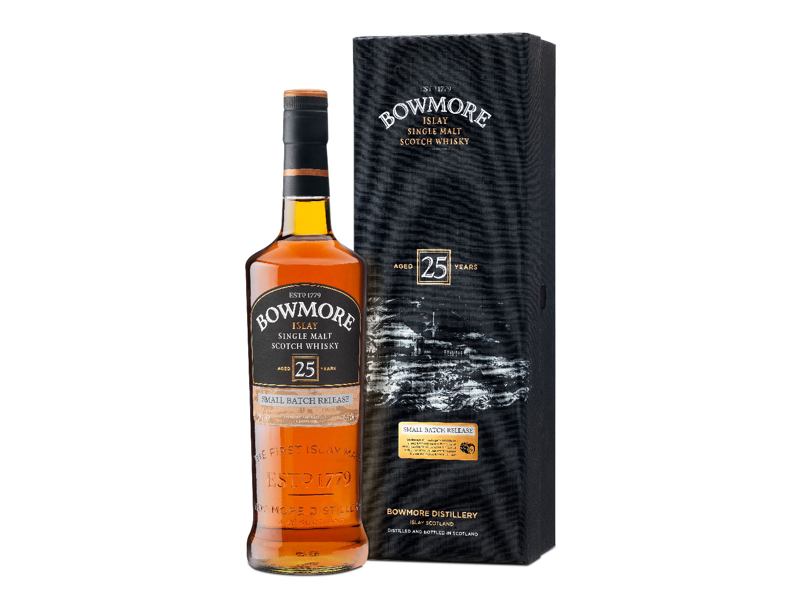 Bowmore 25 Year Old Whisky