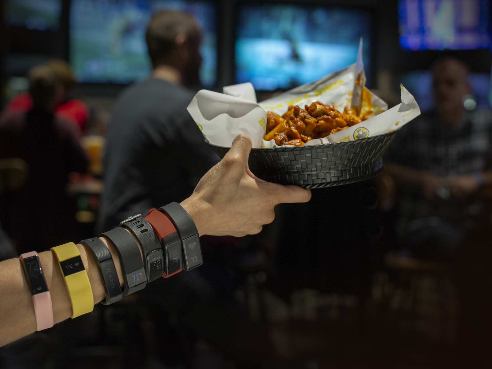 Buffalo Wild Wings Servers Will Wear Your Fitbit to Help You 'Workout' While You Watch Bowl Games