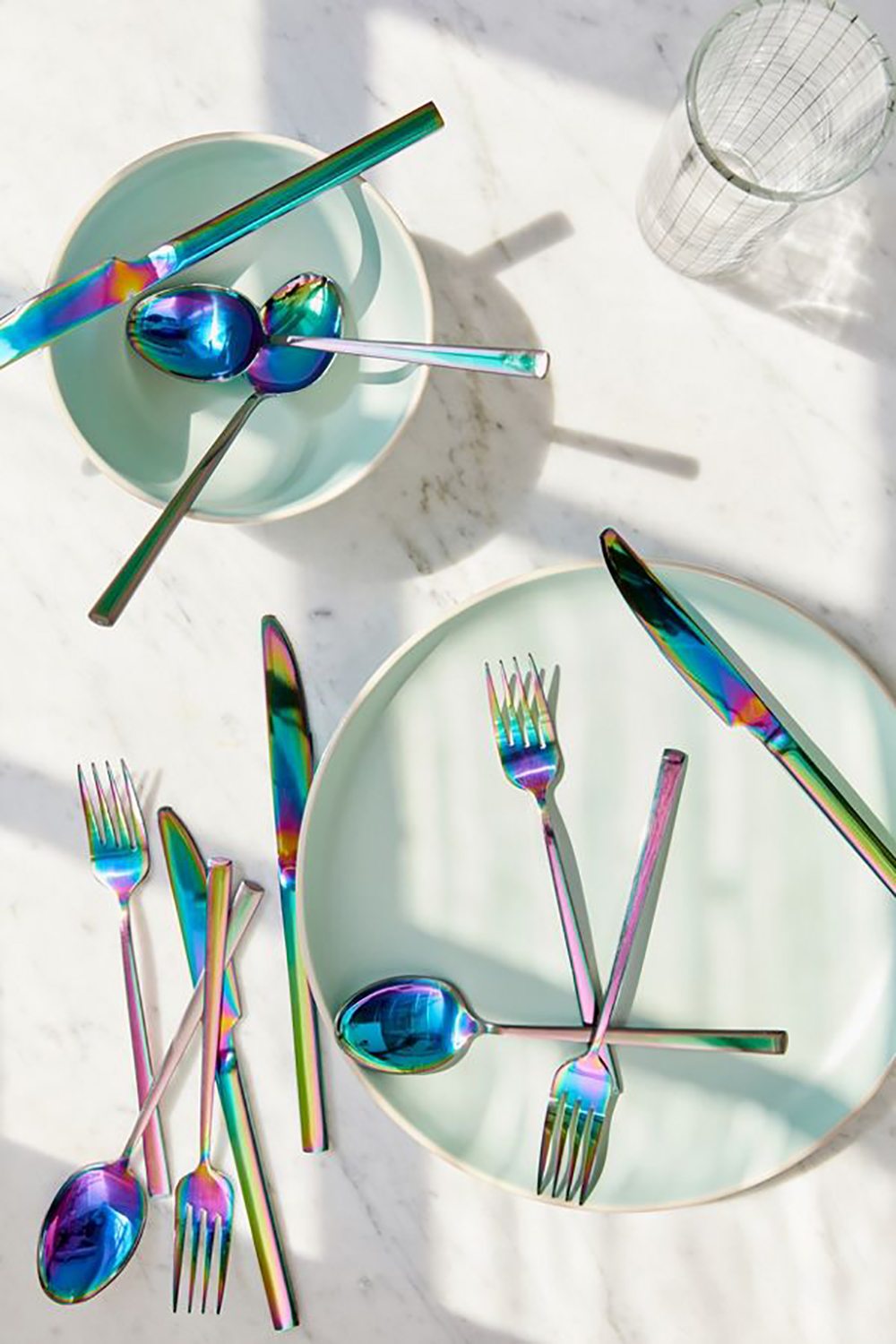 12-Piece Electroplated Flatware Set: Urban Outfitters Home Sale