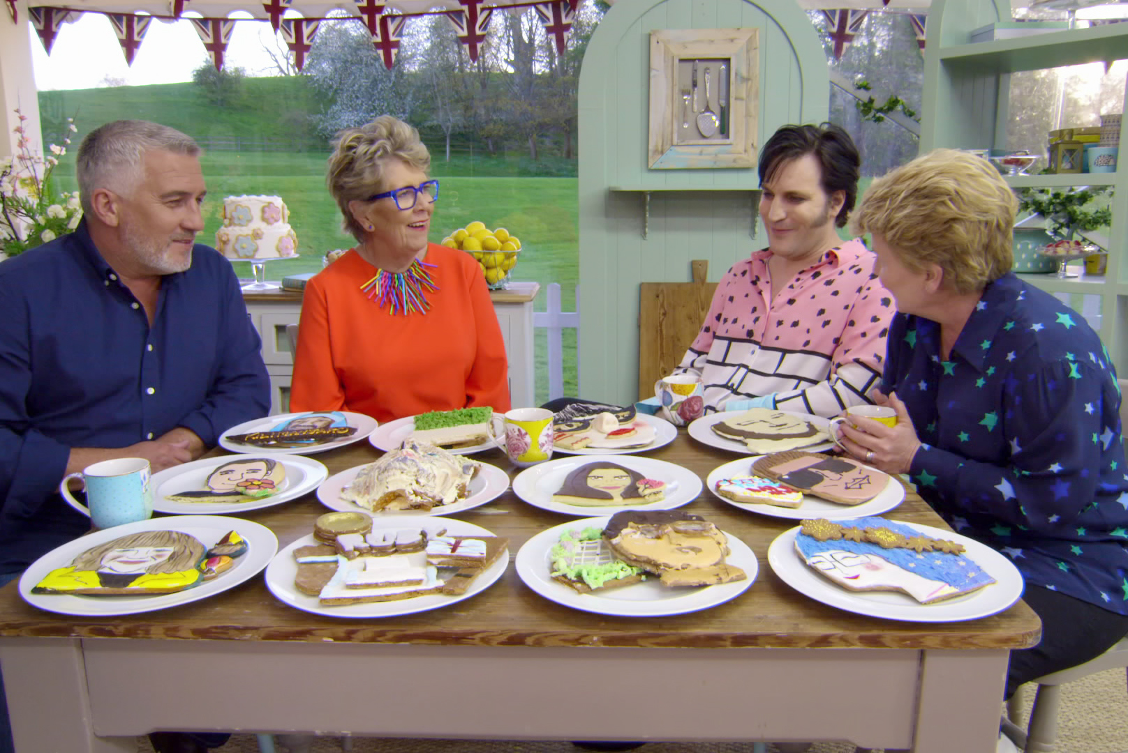 'Great British Baking Show' Leftovers Are Fed to Pigs, According to Noel Fielding