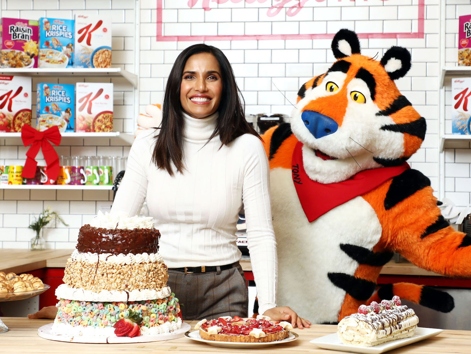 Padma Lakshmi on Cereal Nostalgia and Pantry 'MacGyvering'