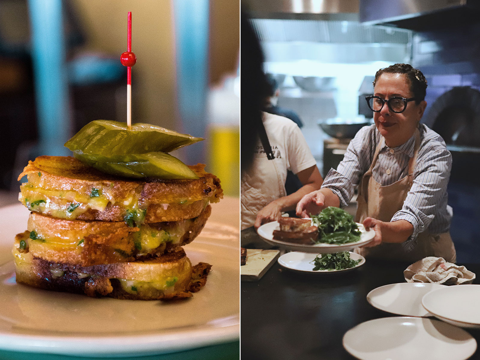 Nancy Silverton's Famous Grilled Cheese Returns to L.A. with a Bang