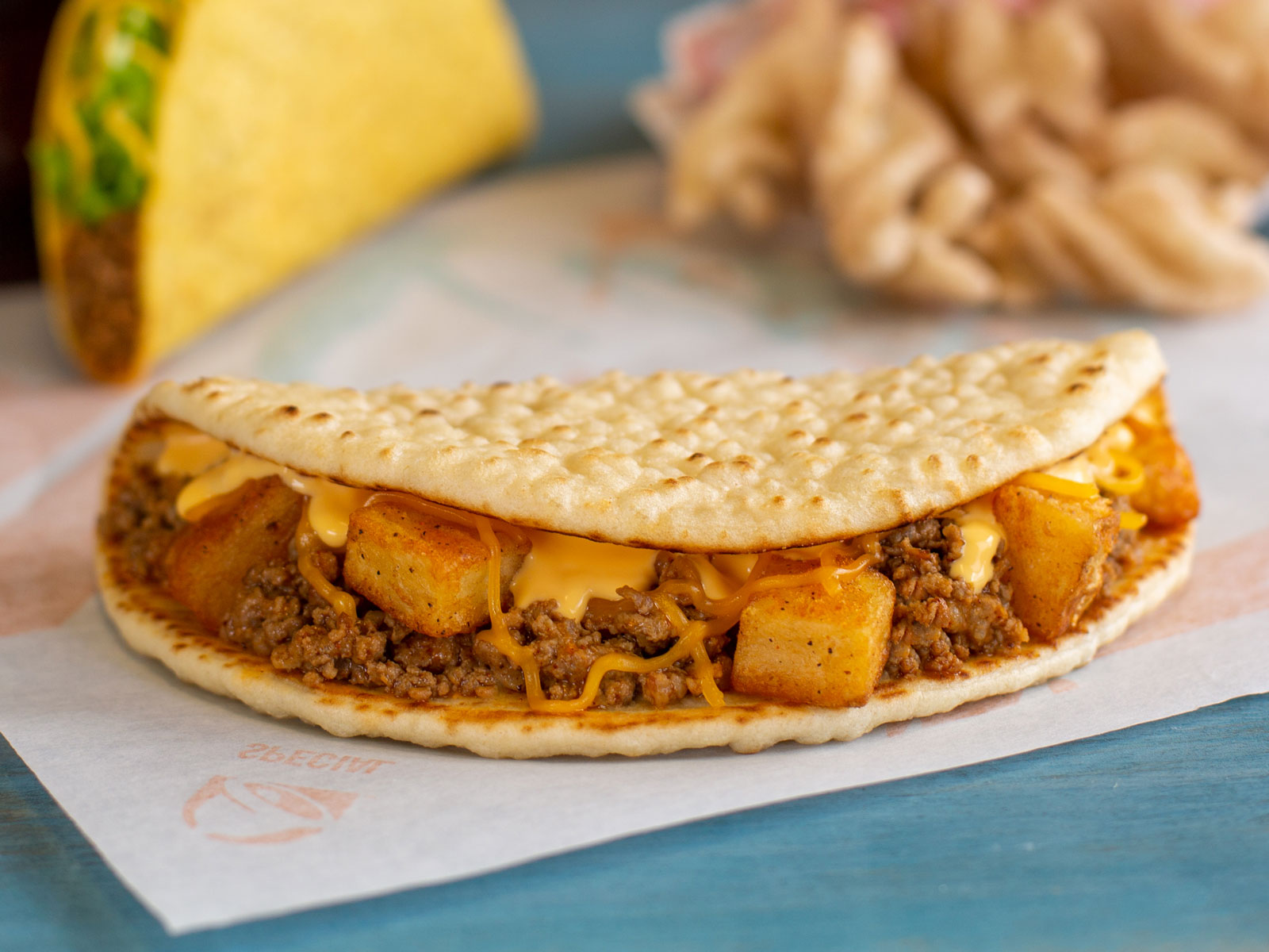 Taco Bell Ends the Year with Three Test Items in Three Cities