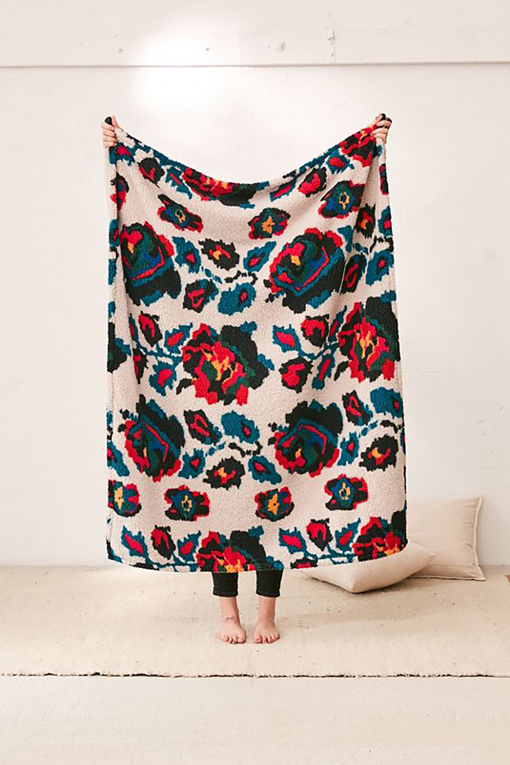 Amped Fleece Printed Throw Blanket: Urban Outfitters Home Sale