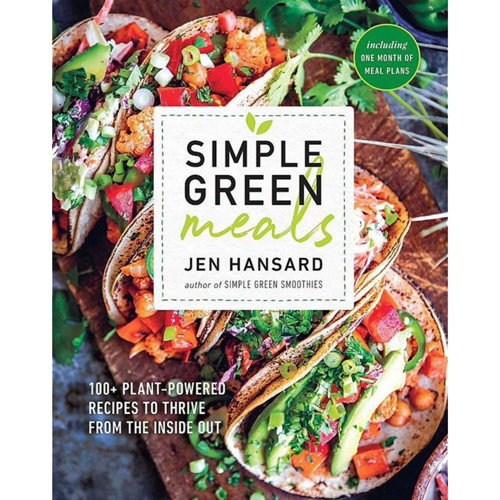 simple green meals vegan plant-based cookbook