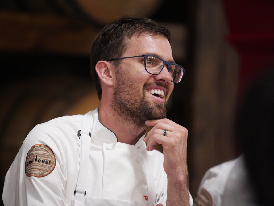 'Top Chef's' Kevin Scharpf on Salty Cherries and Sizing Up the Competition