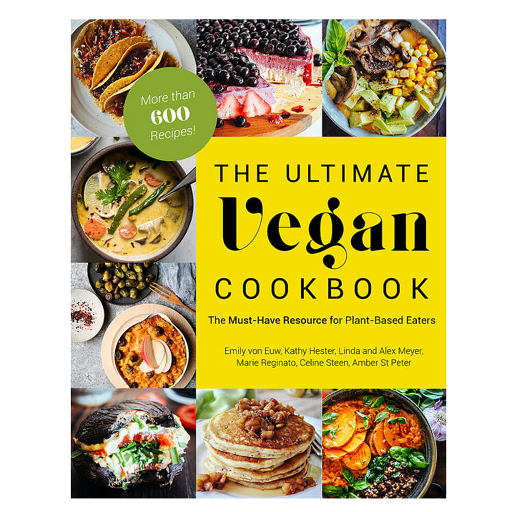 ultimate vegan cookbook plant based