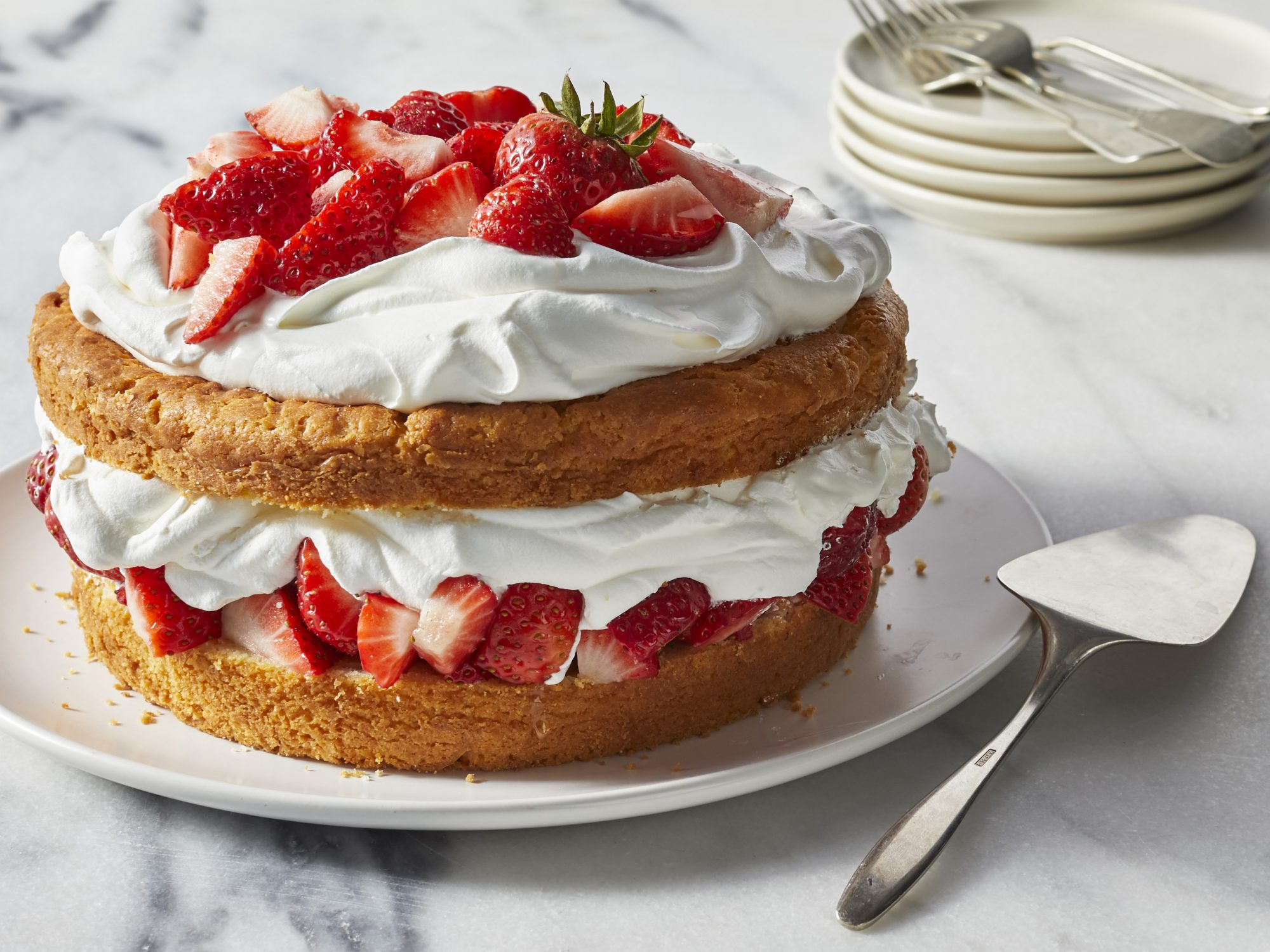 Strawberry Shortcake for a Crowd
