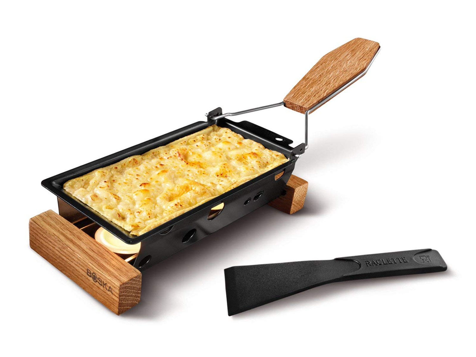 Mini Tea Light Raclette Set