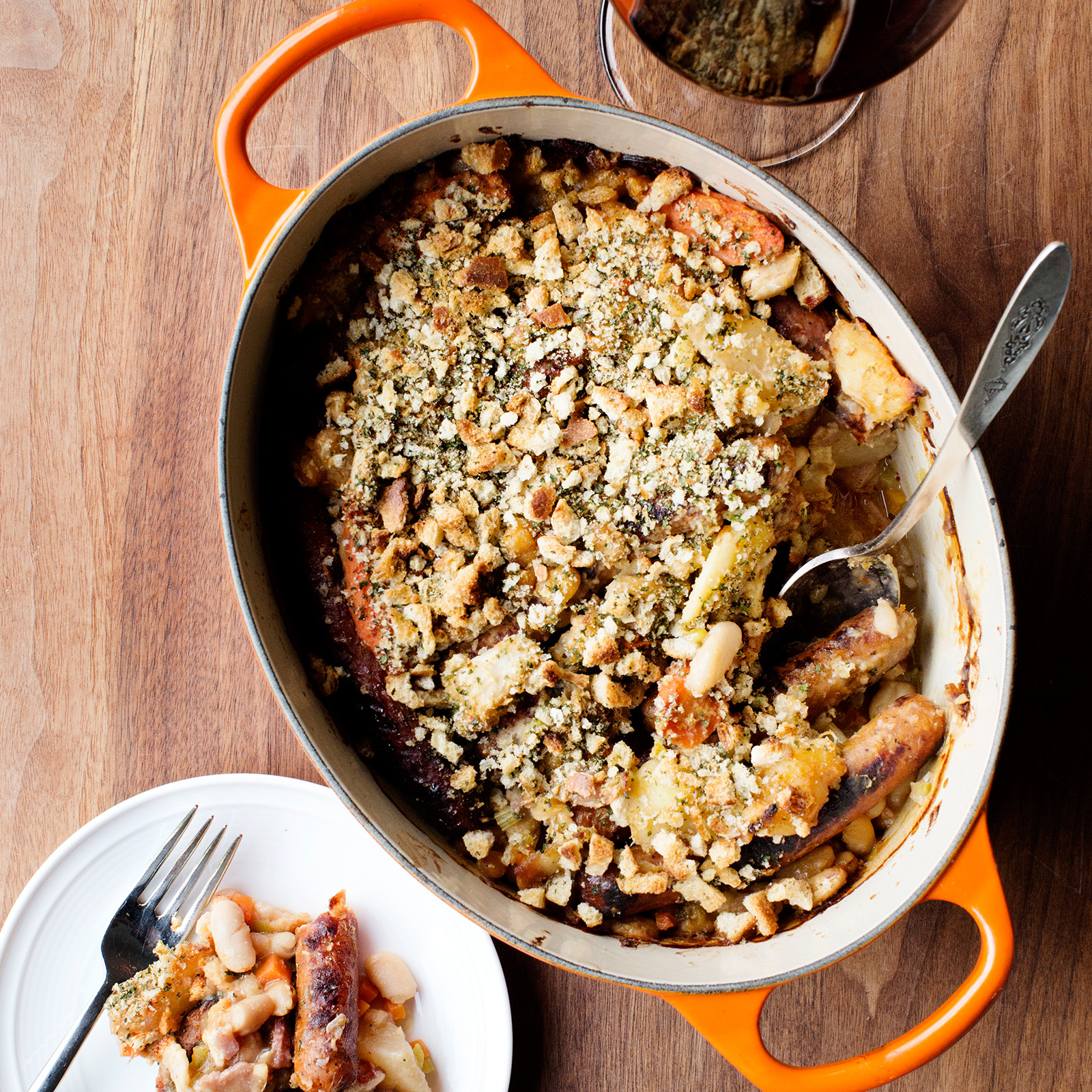 Harissa-Spiced Cassoulet