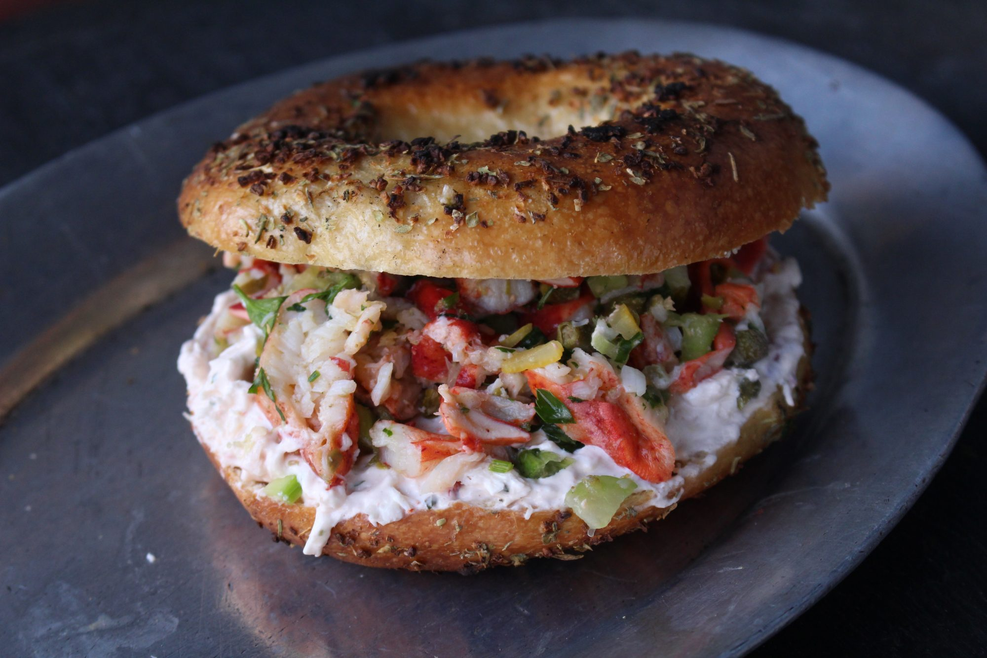 black-seed-bagels-lobster-cream-cheese.JPG