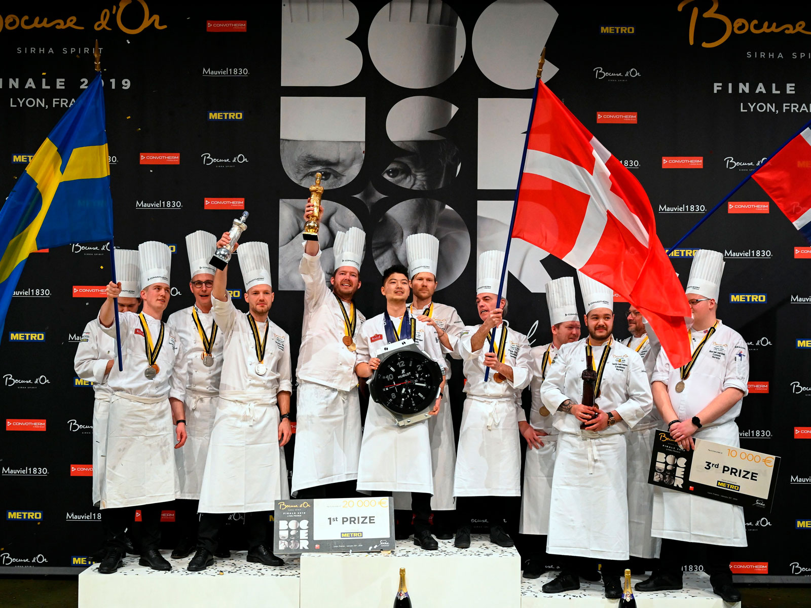 Denmark Wins Bocuse d'Or After Strong Showing from Team USA