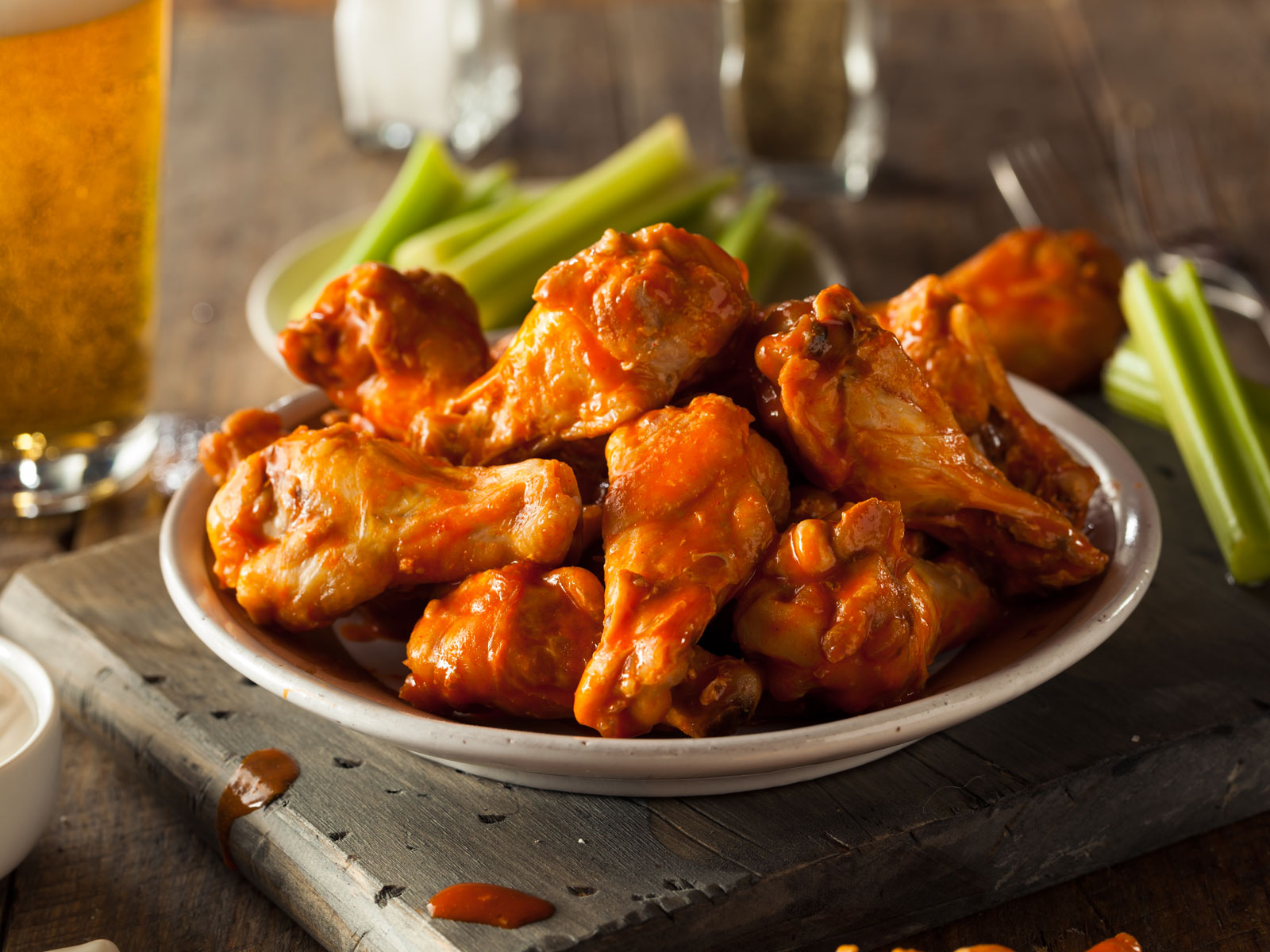 Here's How Many Chicken Wings Americans Will Eat During the Super Bowl