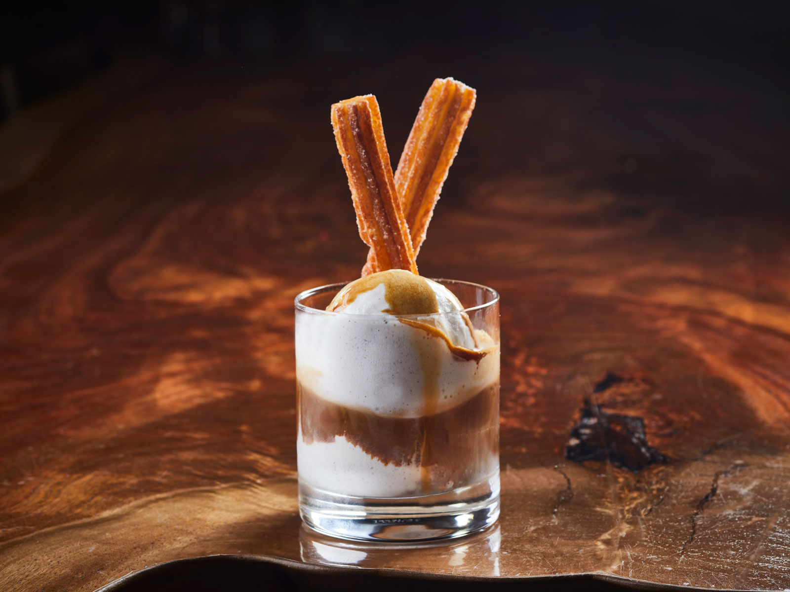 Churros Affogato