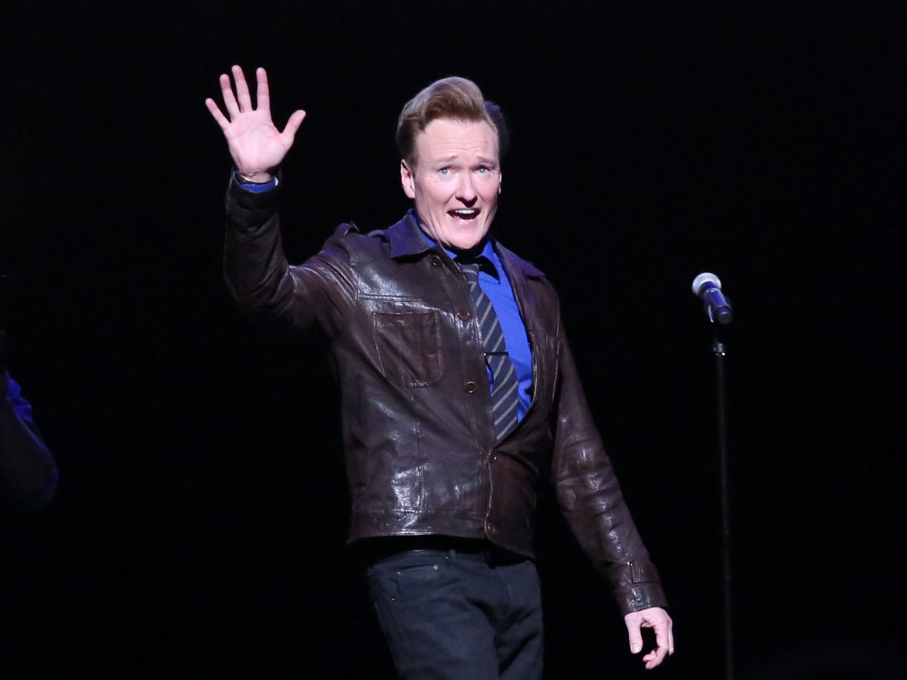 Watch Conan O'Brien Tour the Sam Adams Brewery and Create His Own 'Conan Brew'