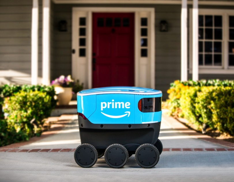 Amazon Delivery Robots Hit the Doorsteps of Seattle