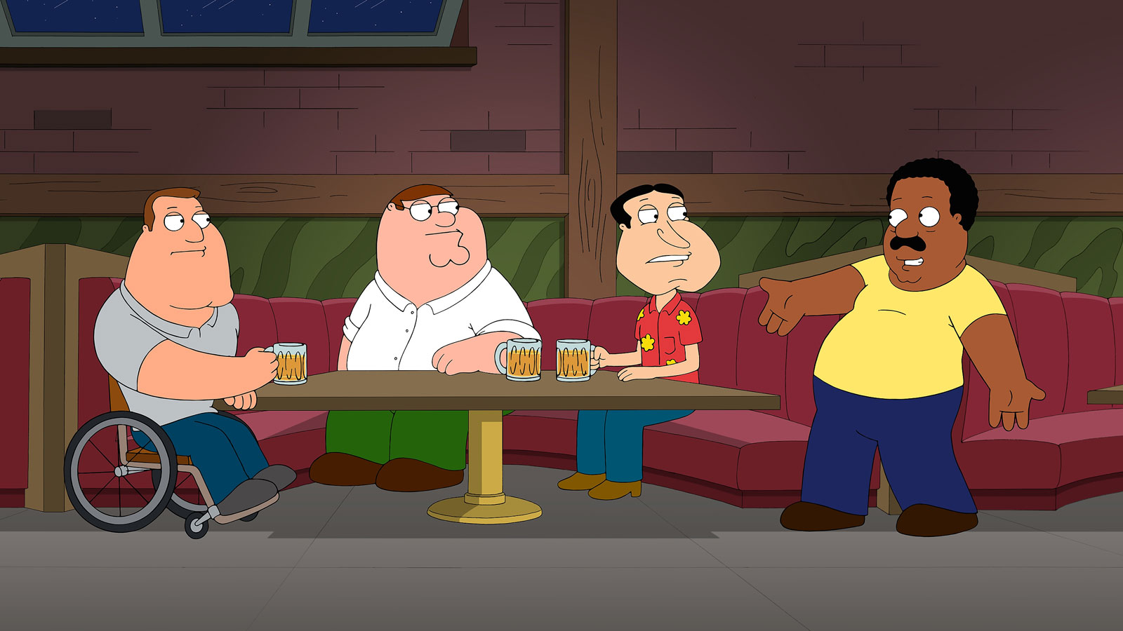 The Drunken Clam Bar From 'Family Guy' Exists, and It's in Dallas