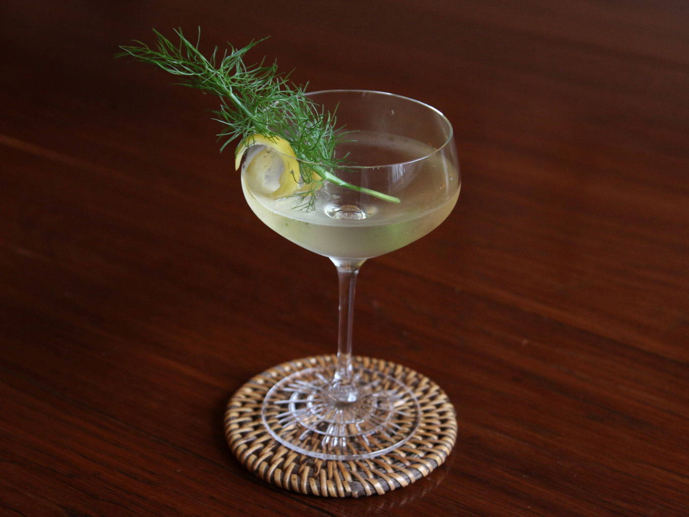 Fennel Martini